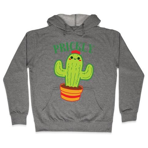 Prickly Pair: Prickly Half Hooded Sweatshirt