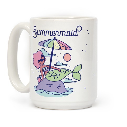 Summermaid Coffee Mug