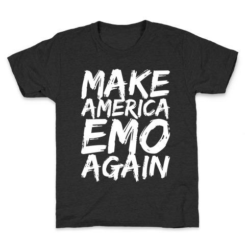 Make America Emo Again Kids T-Shirt