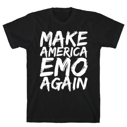 Make America Emo Again Mens/Unisex T-Shirt