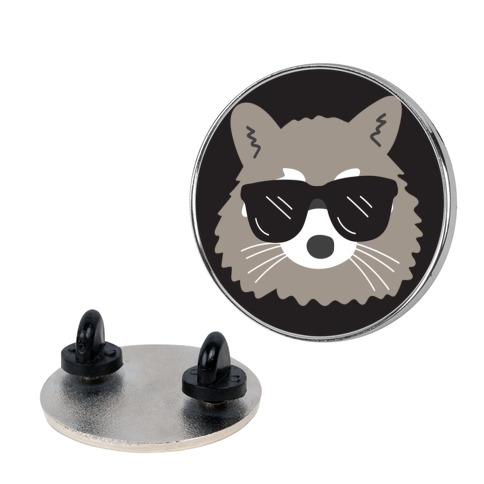Cool Raccoon pin