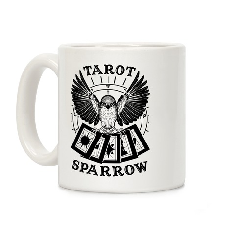 Tarot Sparrow Coffee Mug