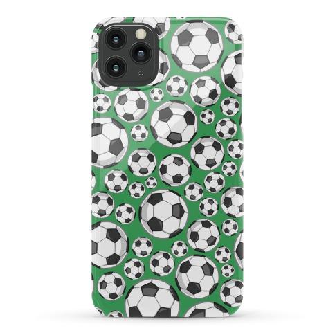Soccer Balls Pattern Phone Case
