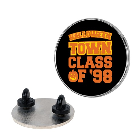 Halloween Town Class of '98 Parody Pin