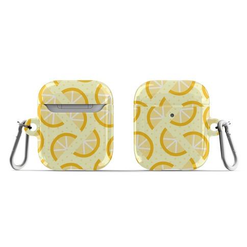 Lemon Slices Pattern AirPod Case