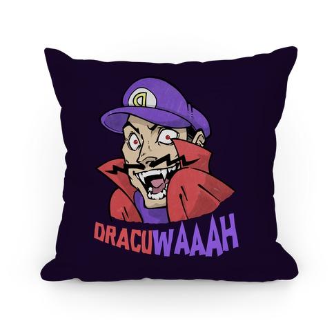 DracuWAAAH Pillow