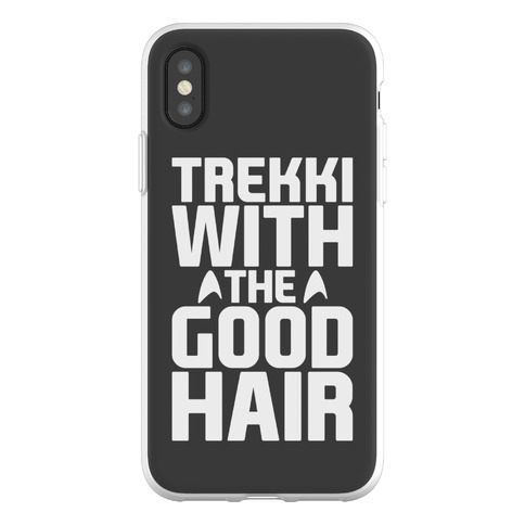 Trekki With The Good Hair Parody Phone Flexi-Case