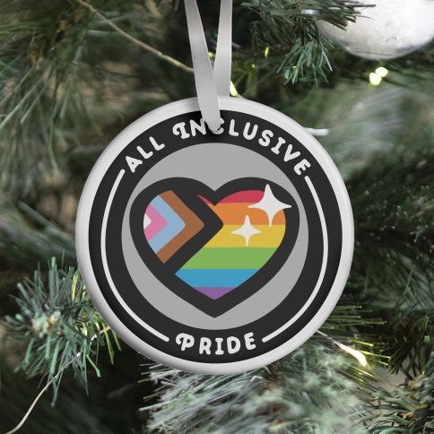 All Inclusive Pride Patch Ornament