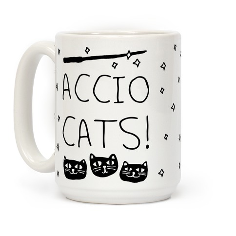 Accio Cats Coffee Mug