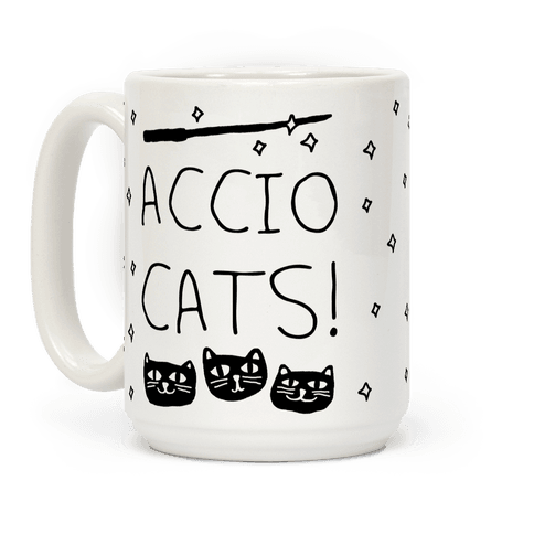 Accio Cats Coffee Mug