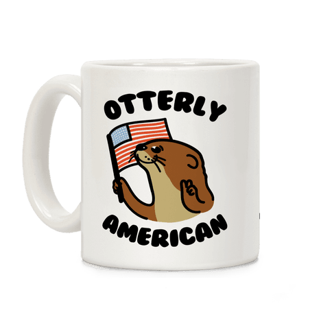 Otterly American Coffee Mug