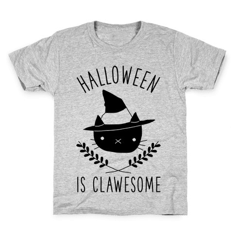 Halloween is Clawesome Kids T-Shirt