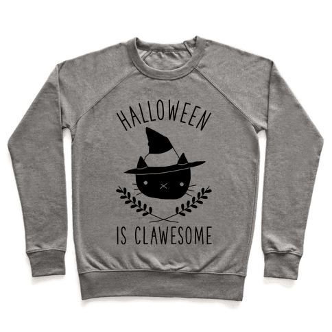 Halloween is Clawesome Pullover
