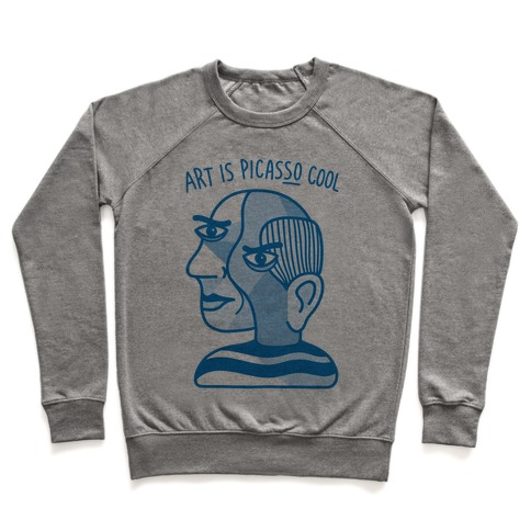 Art Is PicasSO Cool Pullover