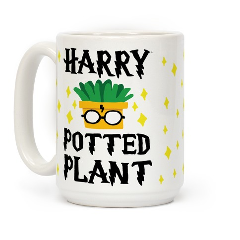 Harry Potted Plant Coffee Mug