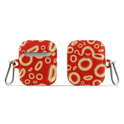 Spaghettios Pattern AirPod Case