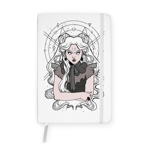 Goth Usagi (Sailor Moon Parody) Notebook
