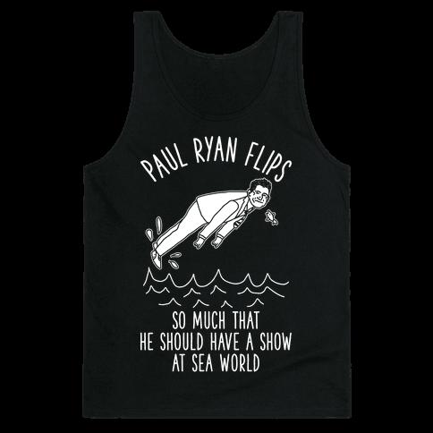 Paul Ryan Flips Tank Top