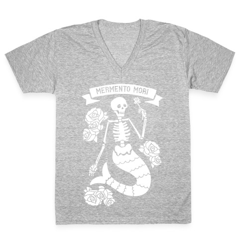 Mermento Mori Mermaid V-Neck Tee Shirt