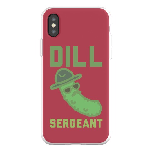 Dill Sergeant Phone Flexi-Case