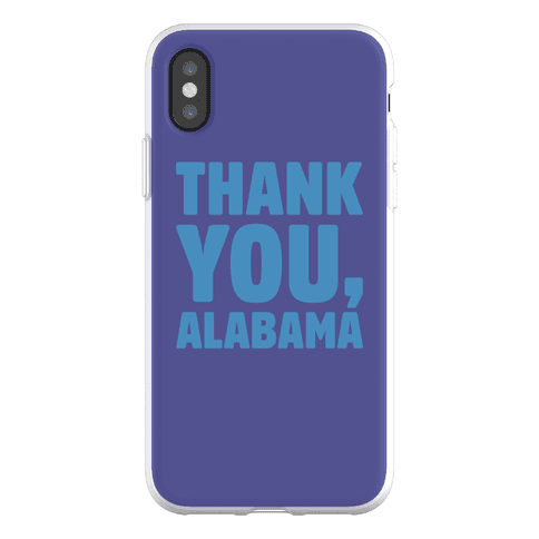 Thank You Alabama Phone Flexi-Case