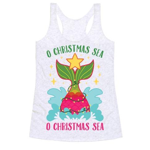 O Christmas Sea, O Christmas Sea Racerback Tank Top