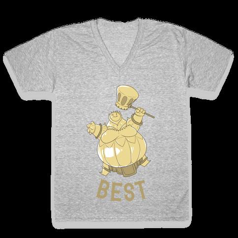 Best Friends Smough V-Neck Tee Shirt