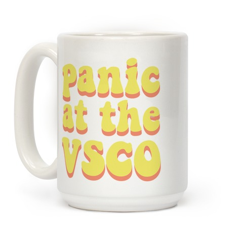 Panic at the VSCO Coffee Mug