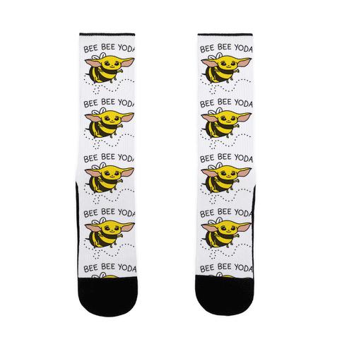 Bee Bee Yoda Sock