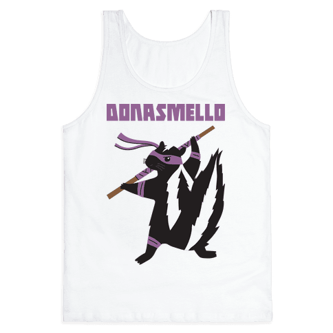 Donasmello (Donatello Skunk) Tank Top