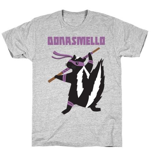 Donasmello (Donatello Skunk) T-Shirt