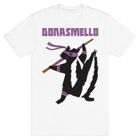 Donasmello (Donatello Skunk) T-Shirt