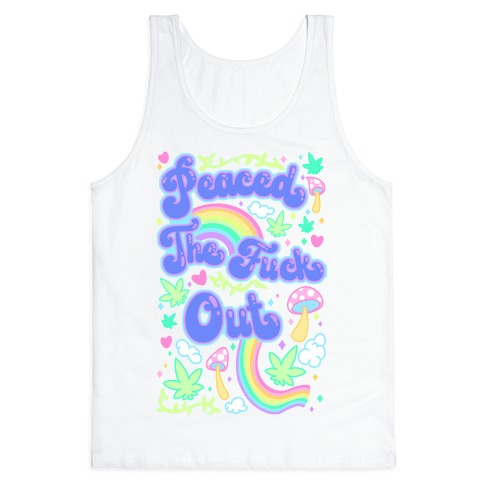 Peaced The F*** Out Tank Top