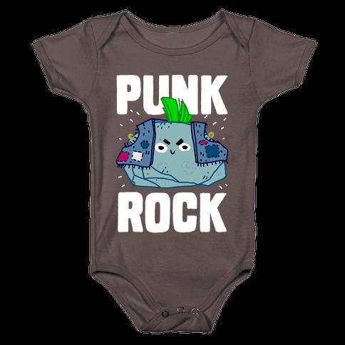 Punk Rock Baby One-Piece