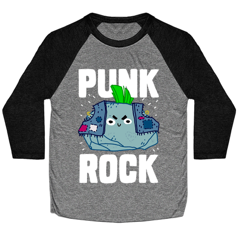 Punk Rock Baseball Tee