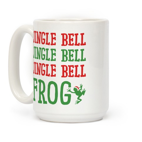 Jingle Bell Frog Coffee Mug
