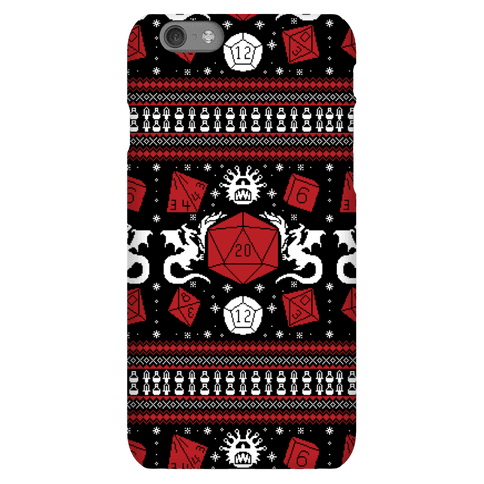 D&D Ugly Sweater Phone Case