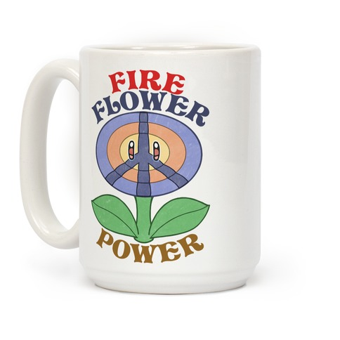 Fire Flower Power Coffee Mug