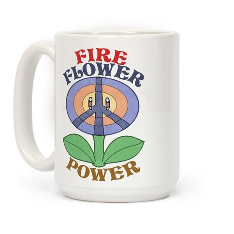 Fire Flower Power Coffee Mug