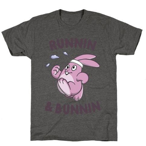 Runnin' And Bunnin' T-Shirt