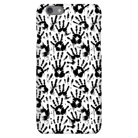 BT Handprints Pattern Phone Case