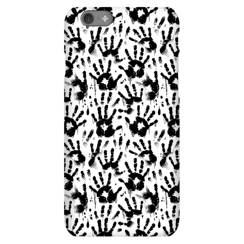 BT Handprints Pattern Phone Case