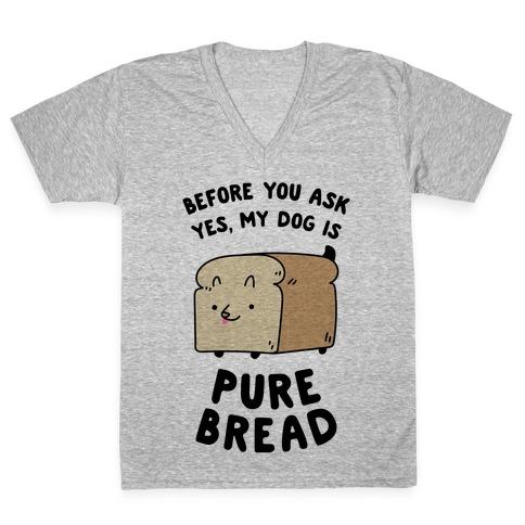 Pure Bread V-Neck Tee Shirt