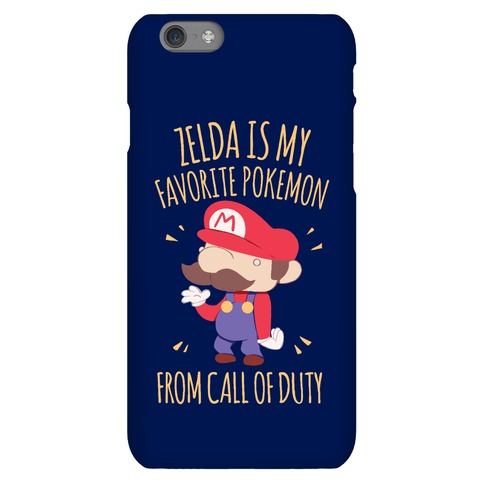Zelda Is My Favorite Pokemon Phone Case