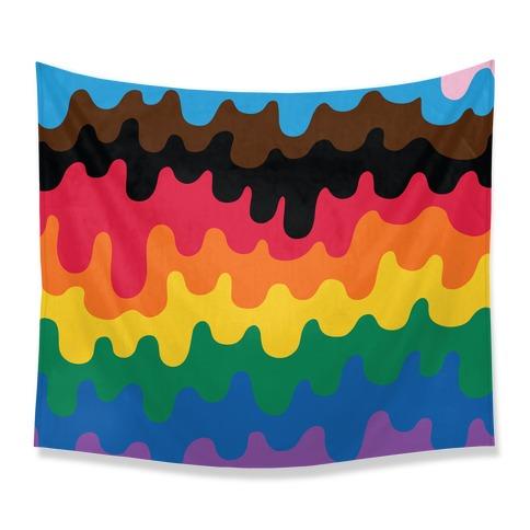 Pride Drip Tapestry