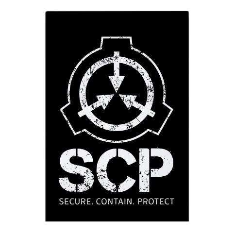 SCP Secure. Contain. Protect Garden Flag