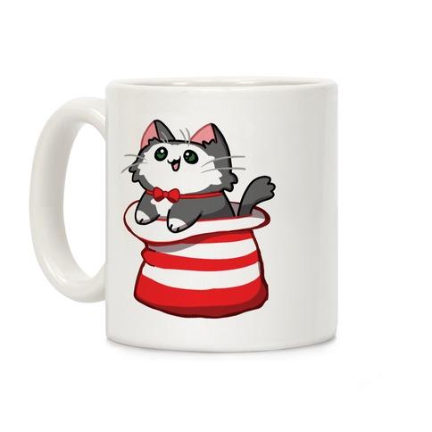 A Cat In The Hat Coffee Mug