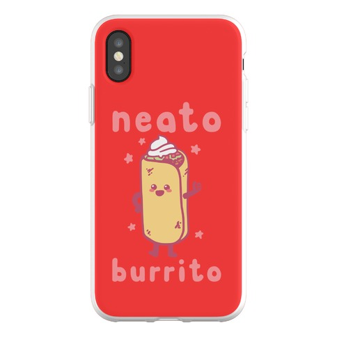 Neato Burrito Phone Flexi-Case