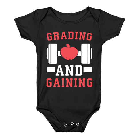 Grading and Gaining Baby Onesy