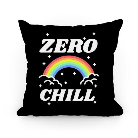 Zero Chill Rainbow Pillow